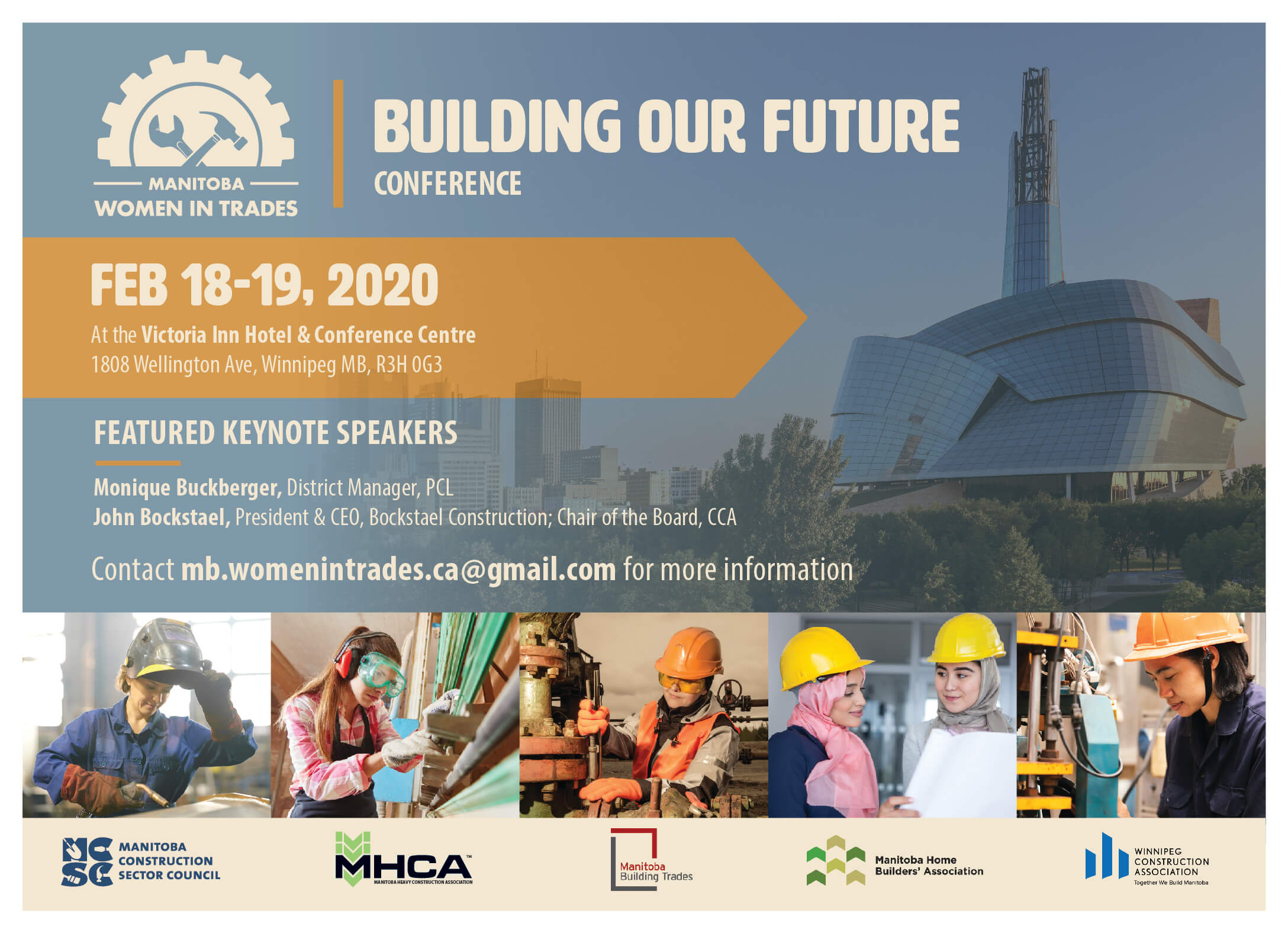 Image for MANITOBA WOMEN IN TRADES BUILDING OUR FUTURE CONFERENCE